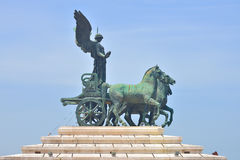 Victor Emmanuel II Monument in Rome, Italy. Victor Emmanuel II Monument in Rome Italy Stock Photography