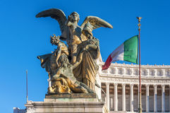 Victor Emmanuel II monument Stock Photo
