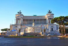 Victor Emmanuel II Monument, Rome Stock Photography