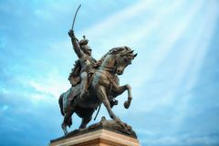Victor Emmanuel II - Venice Royalty Free Stock Photography