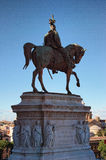 Victor Emmanuel monument in Il Vittoriano in Rome, Italy Stock Photos