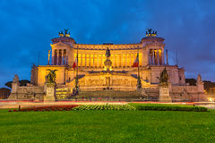 Victor Emmanuel monument in Rome Stock Photos