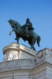 The Victor Emmanuel Monument in Rome, Italy Stock Photo