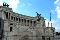 Victor Emmanuel Monument Rome,Italy Royalty Free Stock Image