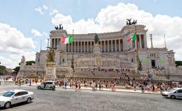 victor för emmanuel ii monumentnational royaltyfri fotografi