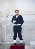 victor för emmanuel ii monumentrome soldat Arkivbild