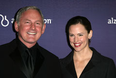 Victor Garber and Jennifer Garner  Stock Photo