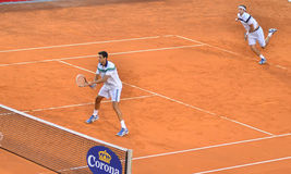 Victor Hanescu and Gilles Muller Royalty Free Stock Photo