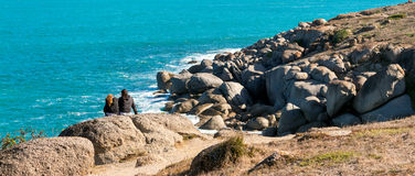 Victor Harbor beach Royalty Free Stock Image