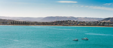 Victor Harbor-Panoramablick Stockbild
