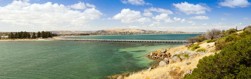 Victor Harbour Panorama Stock Image