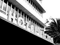 The Victor Hotel, Miami Beach. MIAMI BEACH, USA - SEPTEMBER 8, 2015. Art Deco Victor hotel in the touristic avenue Ocean Drive, Miami Beach, Florida Stock Photos