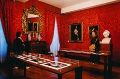 Victor Hugo domy Paryż, FRANCJA fotografia royalty free