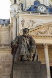 Victor Hugo monument. In Paris, France stock images