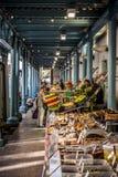 Victor Hugo rynek w Tuluza Zdjęcia Stock