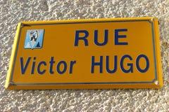 Victor Hugo Street Stockfoto