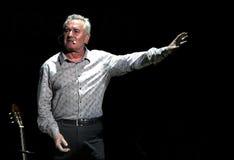 Victor Manuel, ισπανικοί τραγουδοποιός και ποιητής στοκ εικόνες με δικαίωμα ελεύθερης χρήσης