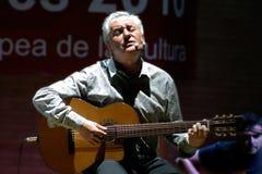 Victor Manuel, compositor espanhol e poeta foto de stock royalty free