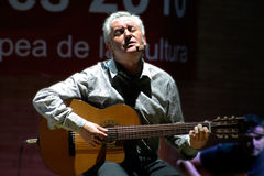 Victor Manuel, spanish songwriter and poet Royalty Free Stock Photo