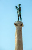 Victor Monument In Belgrade Stock Photography