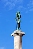 Victor monument on a sunny day Royalty Free Stock Photography
