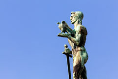 Victor monument on a sunny day Royalty Free Stock Image
