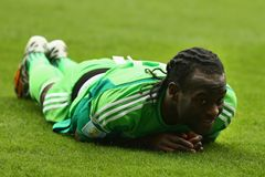 Victor Moses Coupe du monde 2014 Stock Photo
