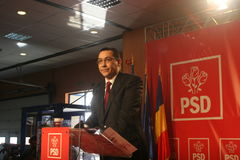 Victor Ponta Royalty Free Stock Image