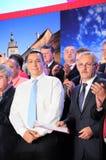 Victor Ponta et Liviu Dragnea Photographie stock libre de droits
