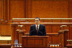 Victor Ponta Stock Images