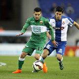 Victor Rodriguez of Elche CF Stock Photography