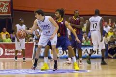 Victor Sada of FC Barcelona Royalty Free Stock Images
