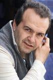 Victor Shenderovich, programa de escritura-escritor satírico Foto de archivo libre de regalías