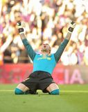 Victor Valdes enjoy Royalty Free Stock Photo