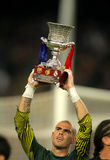 Victor Valdes of FC Barcelona Stock Photography