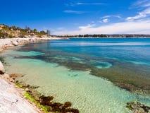 Victorhamn södra Australien Arkivbild