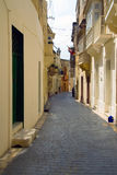 Victoria. Downtown in Malta, Gozo, Victoria Royalty Free Stock Image