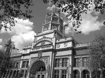 Victoria & Albert Museum. The Victoria & Albert Museum located in Kensington, London, was officially opened by Queen Victoria in 1857. It is the worlds Stock Photography