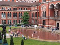 Victoria and Albert Museum Royalty Free Stock Photos