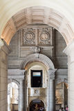Victoria and Albert Museum Inside Arches. London - 08 May 2016: Victoria and Albert Museum Inside Arches Royalty Free Stock Photos
