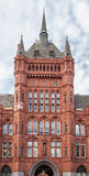 Victoria Albert Museum London. Detail of the facade of Victoria and Albert Museum in London, England Stock Photography
