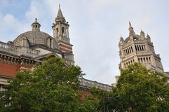 Victoria & Albert Museum in London Stock Image