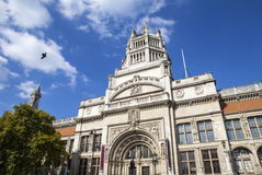 Victoria and Albert Museum in London Stock Photography