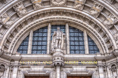 Victoria and Albert Museum, London UK stock photos