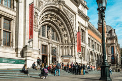 Victoria and Albert Museum in London, UK Royalty Free Stock Photos