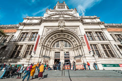 Victoria and Albert Museum in London, UK Royalty Free Stock Images