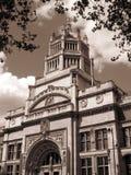 Victoria & Albert Museum (sepia) Stock Image