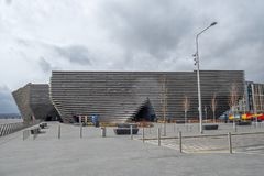 Free Victoria & Albert Museum V&A In Dundee Situated On The Riverside Esplanade Part Of Dundees Riverside Developement. Scotland Royalty Free Stock Photography - 143443897