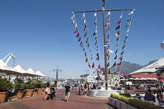 Victoria and Alfred Waterfront Cape Town Royalty Free Stock Images