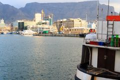 Victoria and Alfred Waterfront, Cape Town, South Africa Stock Photo